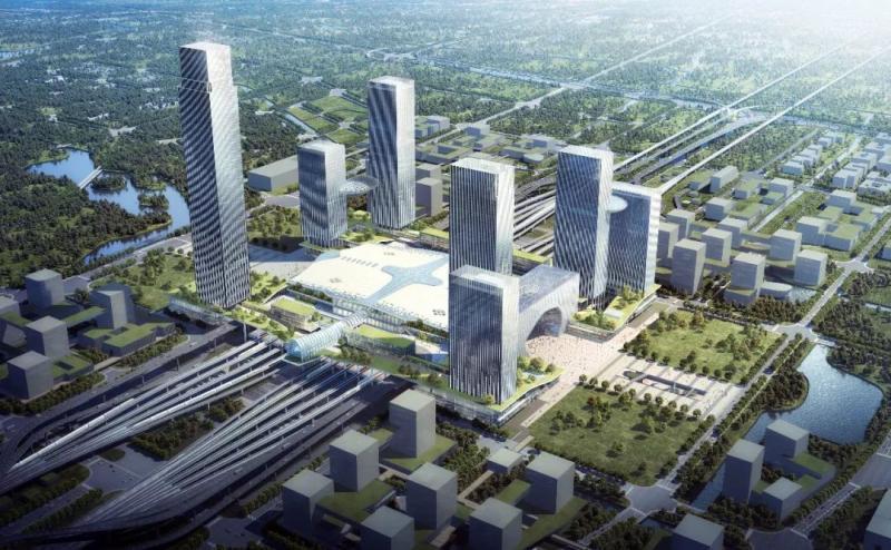 杭州西站枢纽新进展!站房设计方案惊艳亮相!图1