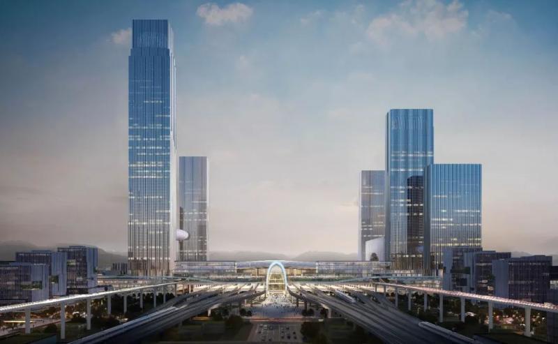 杭州西站枢纽新进展!站房设计方案惊艳亮相!图2