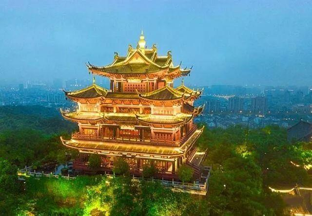 杭州城隍阁,发现新西湖十景吴山天风景区之美图1