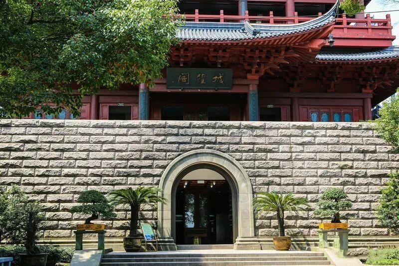 杭州城隍阁,发现新西湖十景吴山天风景区之美图3