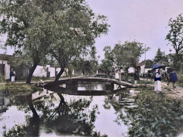 杭州旧影1908年,江南水乡百姓生活