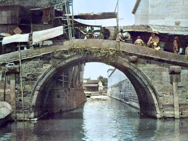 杭州旧影1908年,江南水乡百姓生活图2