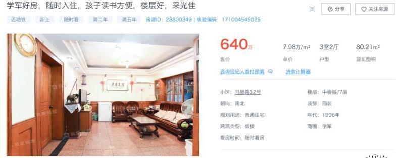 11万人次围观,230次出价!这套1元起拍的杭州学区房,火了!