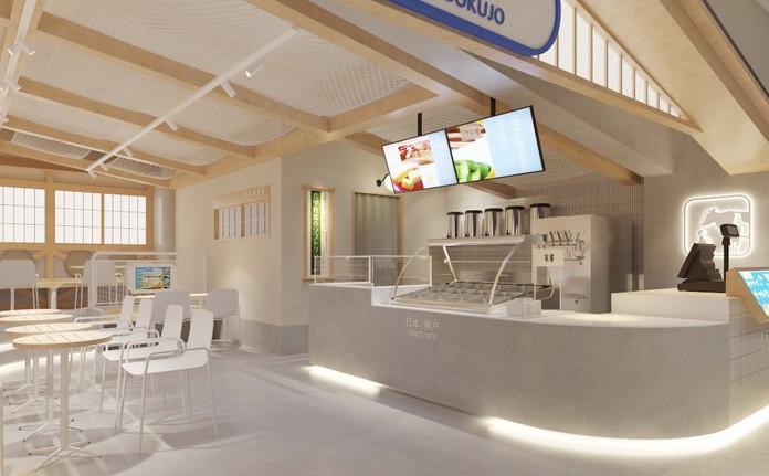杭州首家,日本排名第一的冰淇淋一六甲牧场图1