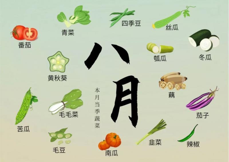 """杭州各月当季蔬菜""""排片表""""出炉!超实用!"""
