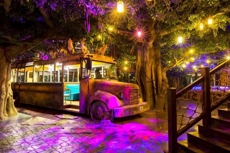 杭州开元森泊度假乐园,现实版的爱丽丝仙境