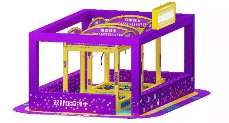 真人娃娃机空降杭州银泰城!有人在这里抓走了一整年的零食!