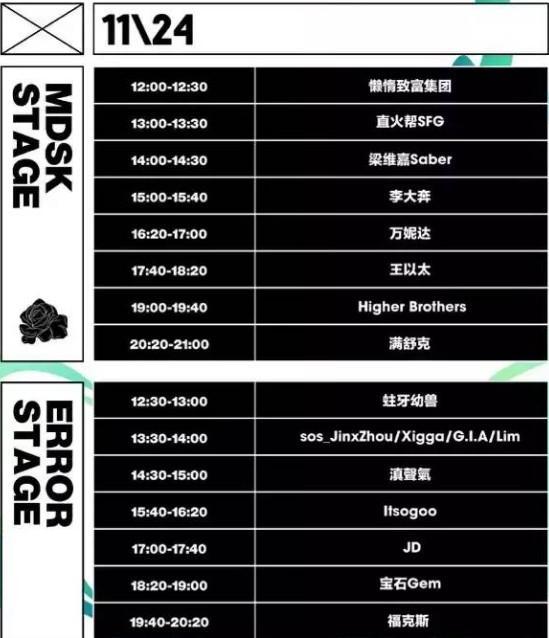 2019杭州MDSK音乐节(活动时间+地点+内容)