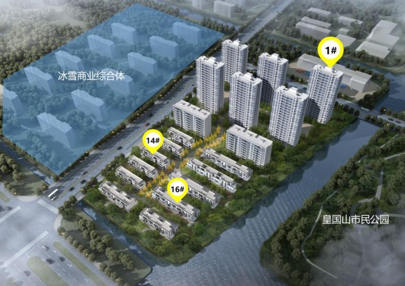 154万起!杭州公园水岸精装三房两卫来了!图2