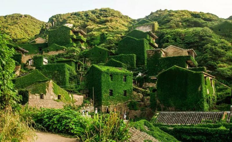 藏在舟山的绿野仙踪梦幻秘境——嵊泗县无人村