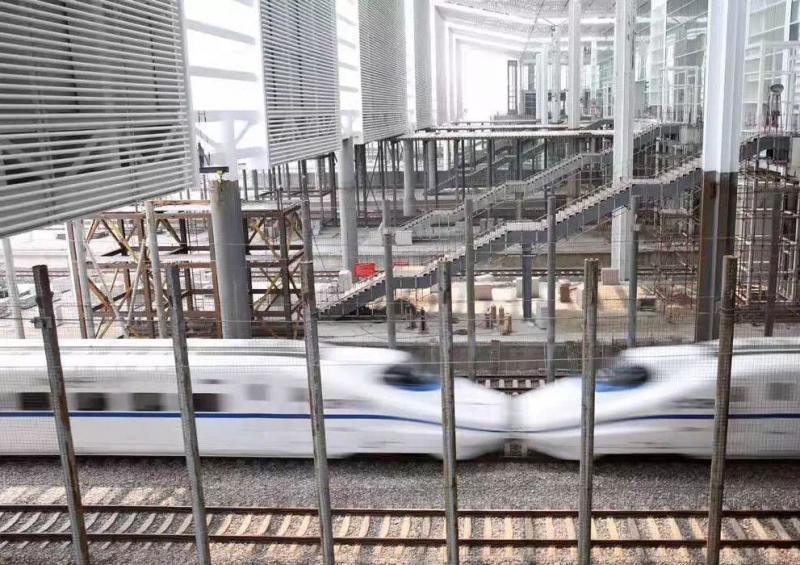 杭州火车南站最新进展来了!从过路站升级为特等站,面积大一倍!