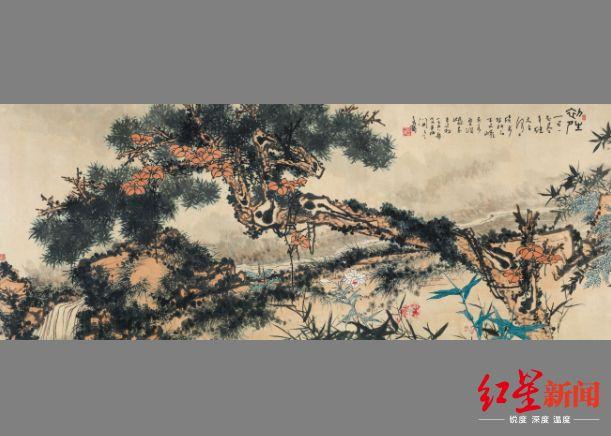 2亿买下杭州华侨饭店, 如今大堂一幅画卖出2亿!