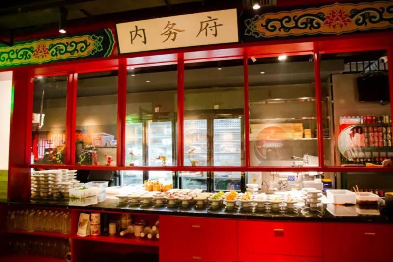 杭州首家奉旨涮锅的故宫风火锅店终于开业了!