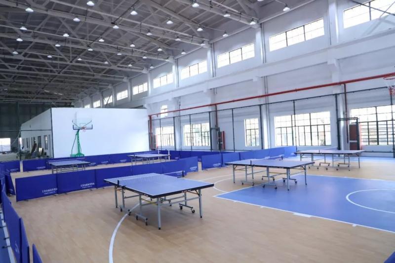 全省最大废弃厂房改造乡镇体育馆——杨汛桥群众体育中心来了!
