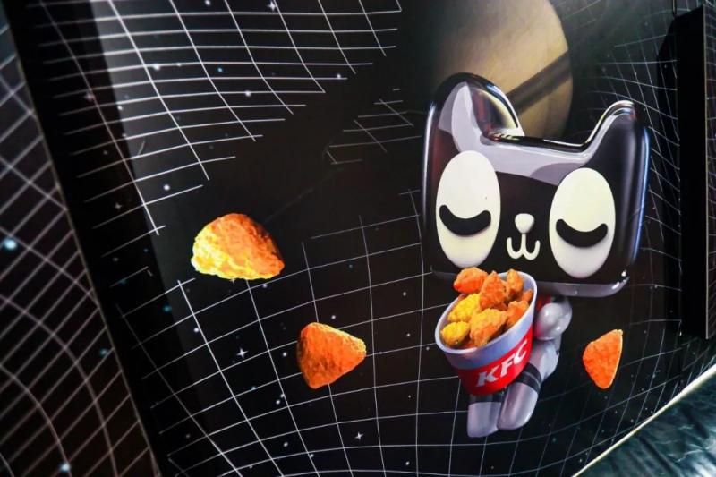 1月4日,天猫KFC未来次元主题店开业,带你去太空吃炸鸡!图2