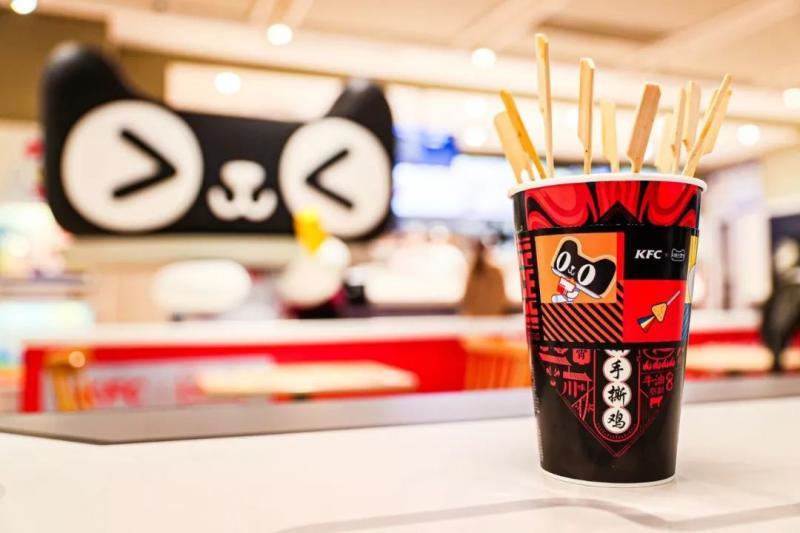 1月4日,天猫KFC未来次元主题店开业,带你去太空吃炸鸡!