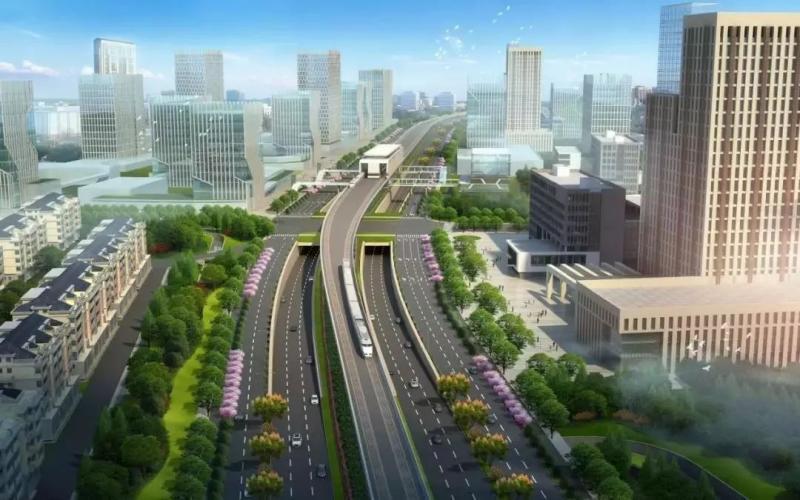 公交开进社区内,852路公交连线打造居民生活圈!