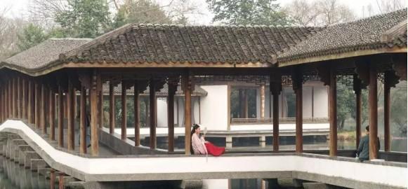一湾湖水,美冠西湖——杭州浴鹄湾