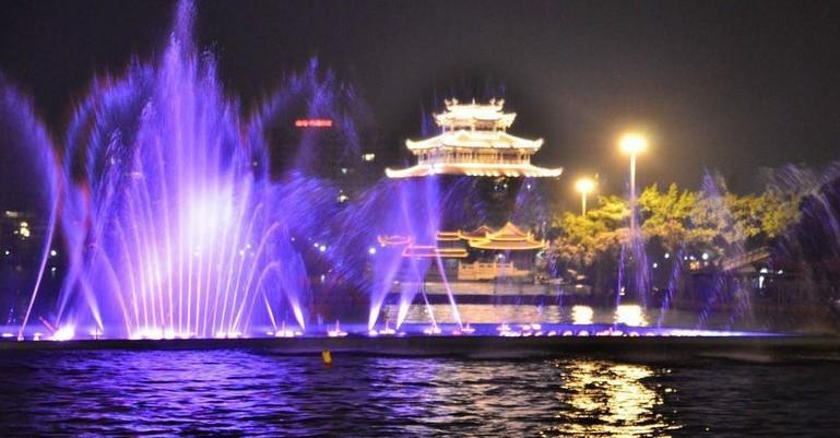 杭州西湖音乐喷泉游玩攻略