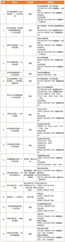 """本周六起,长睦、丁桥居住区、滨江区居民可坐""""快线""""到火车东站!图3"""