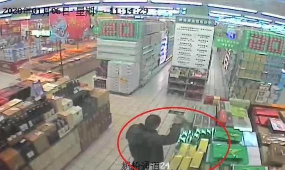 """年底""""冲业绩"""",杭州一小偷盯上了超市的铁皮石斛!"""