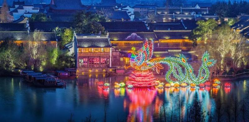 2020年乌镇新春水灯会即将在1月17日盛装归来!图1