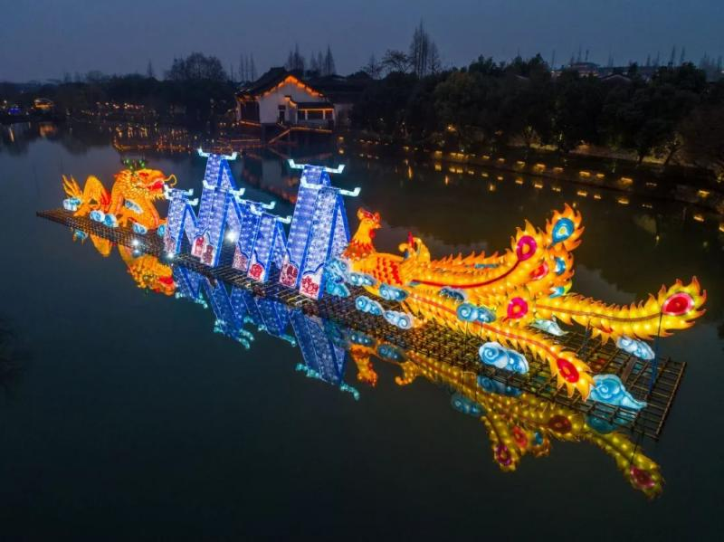 2020年乌镇新春水灯会即将在1月17日盛装归来!图3