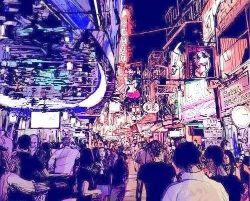 杭州夜市集合:城市夜晚的一抔烟火气!图1