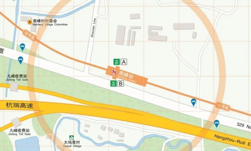 杭州地铁16号线来啦!余杭段沿线站点特色、换乘公交信息抢先看!