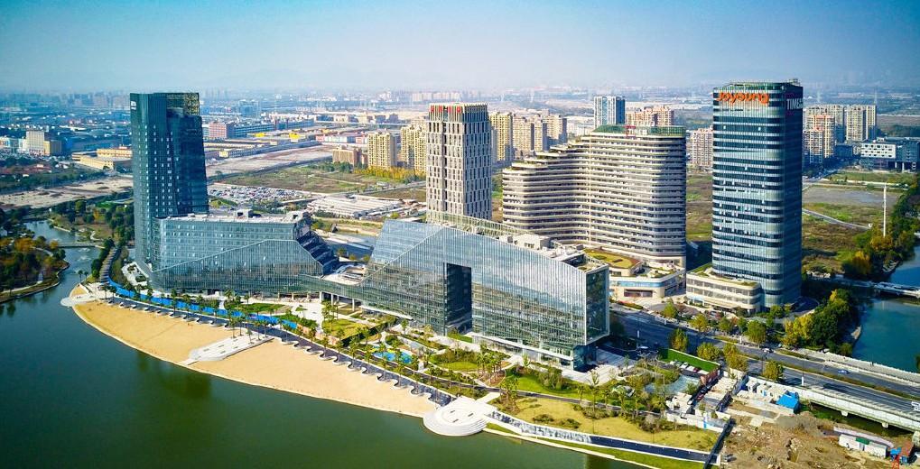 """杭州东部""""城市之眼""""再传好消息!城市国际公园、特色樱花大道等你来!"""