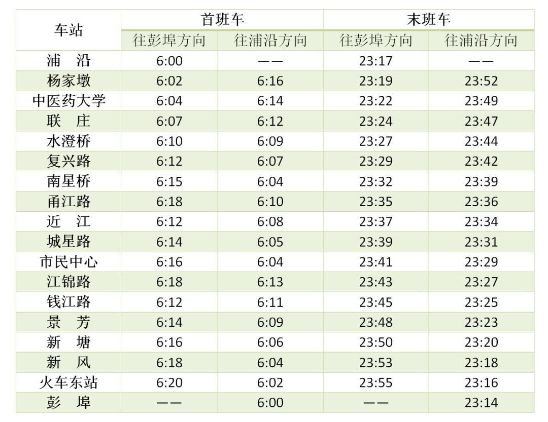 """""""五一""""期间,杭州地铁运营时间有调整!出行必看!"""
