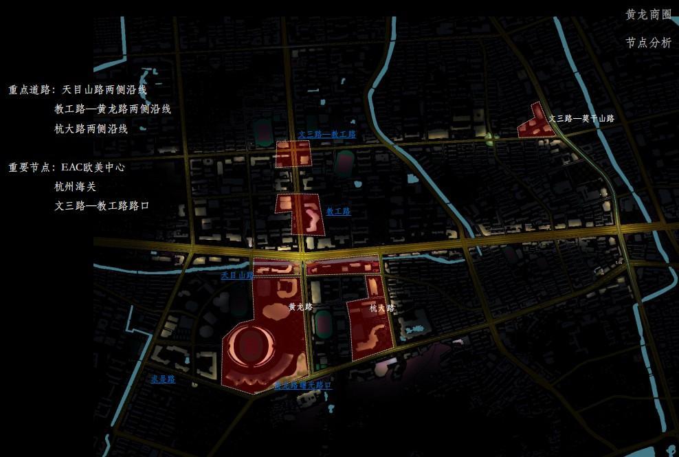 杭州黄龙商圈新夜景即将惊艳亮相!