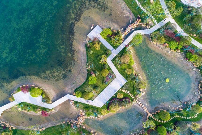 杭州这个超级大公园——丰收湖公园6月开园啦,免费!