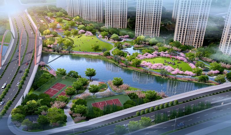 杭州北塘河畔及周边区域提升改造工程正式启动,看看有哪些美景吧!图2