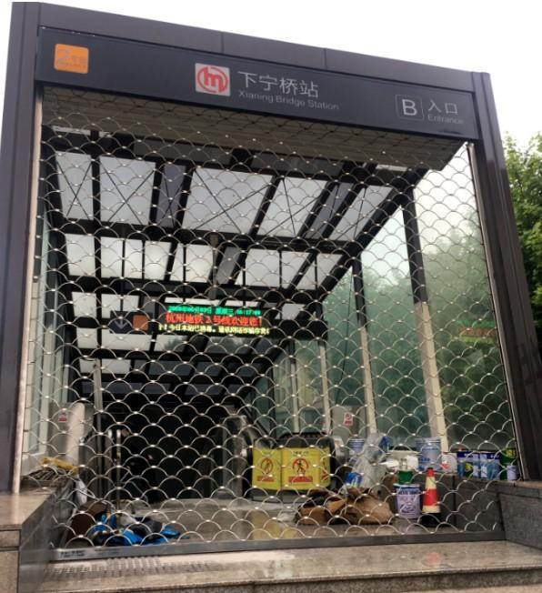 杭州地铁2号线下宁桥站有了最新消息:力争本月底开通