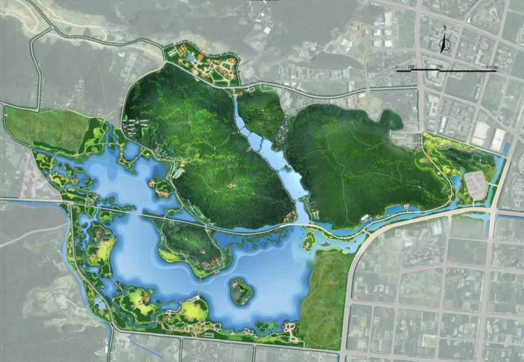 杭州新增一个公园——里湖公园,预计下个月开园!