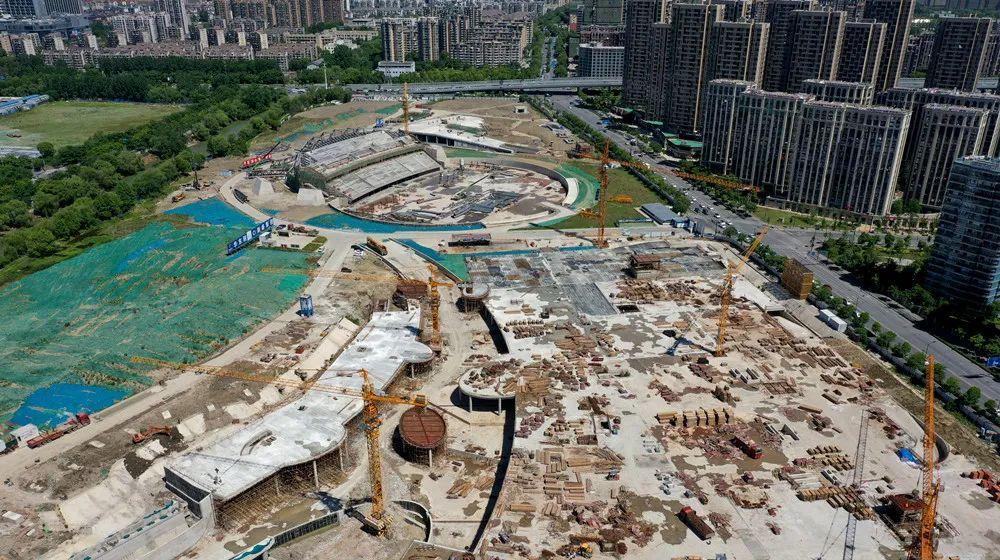 大运河亚运公园新进展!计划明年3月竣工!