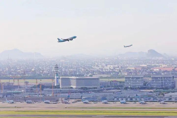 杭州萧山机场进入双跑道时代