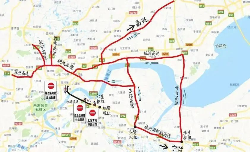 端午高速不免费!杭州这些路段有临时交管措施,部分路段禁止通行