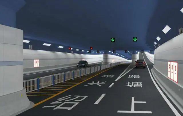 今天上午11点,杭州香积寺路隧道即将开通试运行!