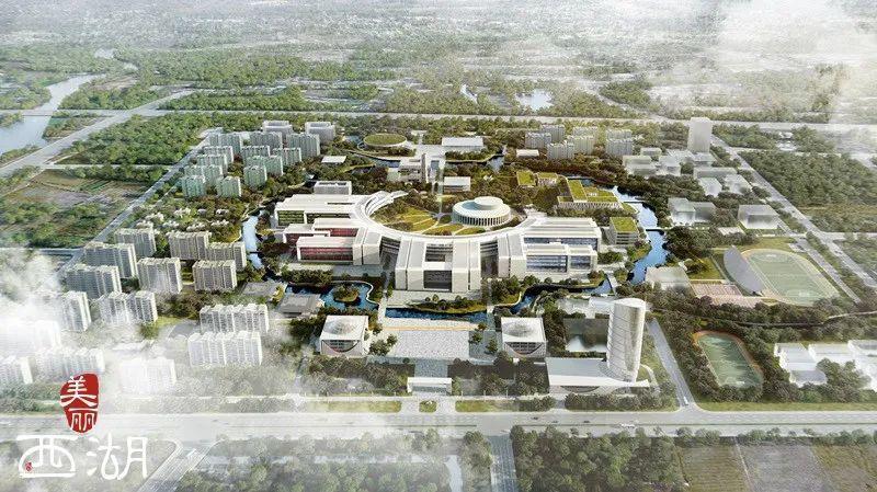 杭州新地标现雏形!西湖大学云谷校区一期全面封顶!