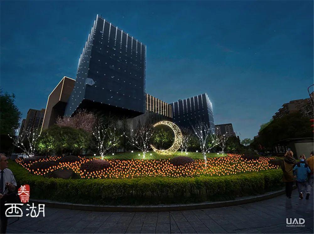 杭州莲花商圈的亮灯改造提前看!