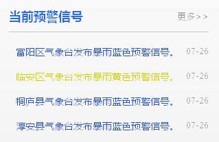 杭州多地暴雨预警!下周重回高温,气温要冲上…7月还会有台风吗?