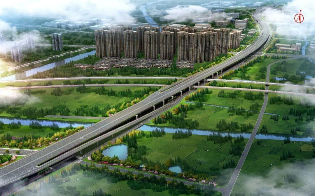 东湖高架路二期开工建设!计划2022年完工!