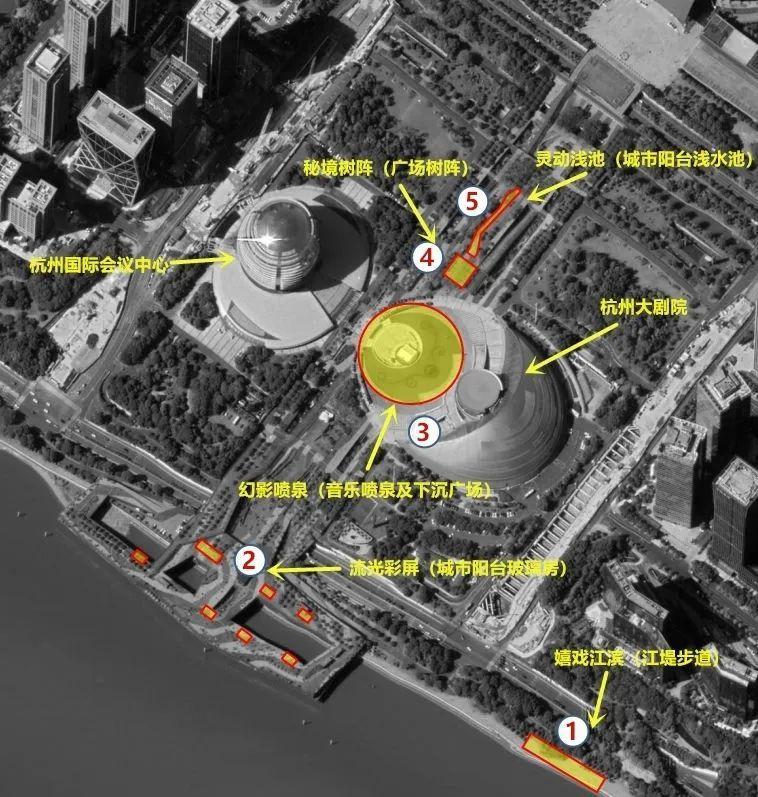 今天晚上开始,杭州钱江新城核心区互动光影秀正式对市民游客开放!