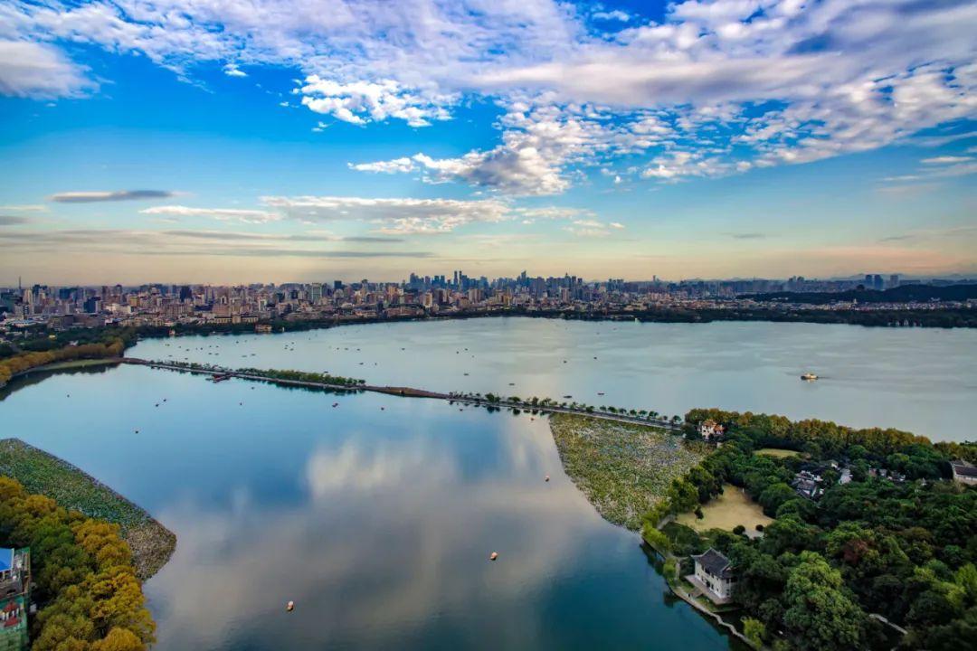 杭州这个与西湖齐名网红景点——铜鉴湖,十一亮相!