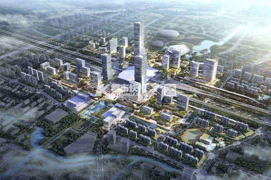 杭州火车西站旁有望开建杭州最高楼,高度超380米!