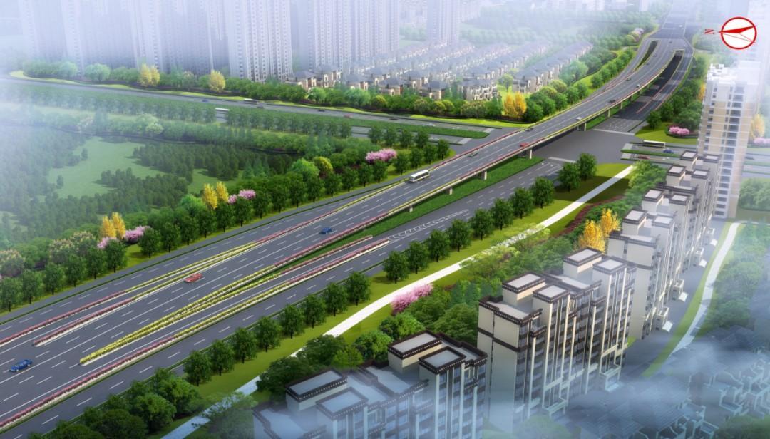 320国道快速路二期项目又有新进展,2022年年底通车!