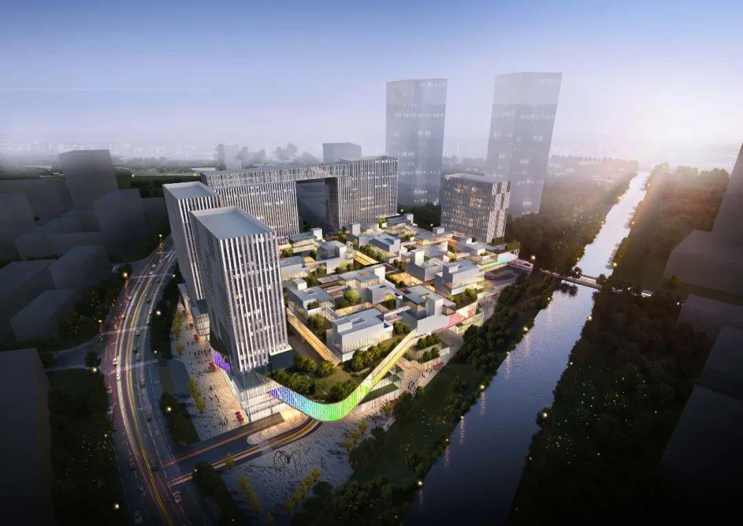 总投20亿!城北360集团花创科技中心总部项目初具雏形!明年完工!