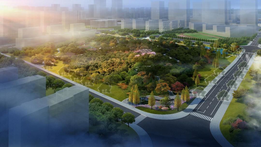 """杭州新增一个超大湖景公园,呈""""蝴蝶""""状!节假日又有新去处了!"""